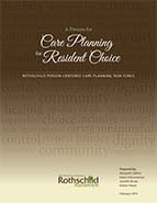 Process for Care Planning for Resident Choice